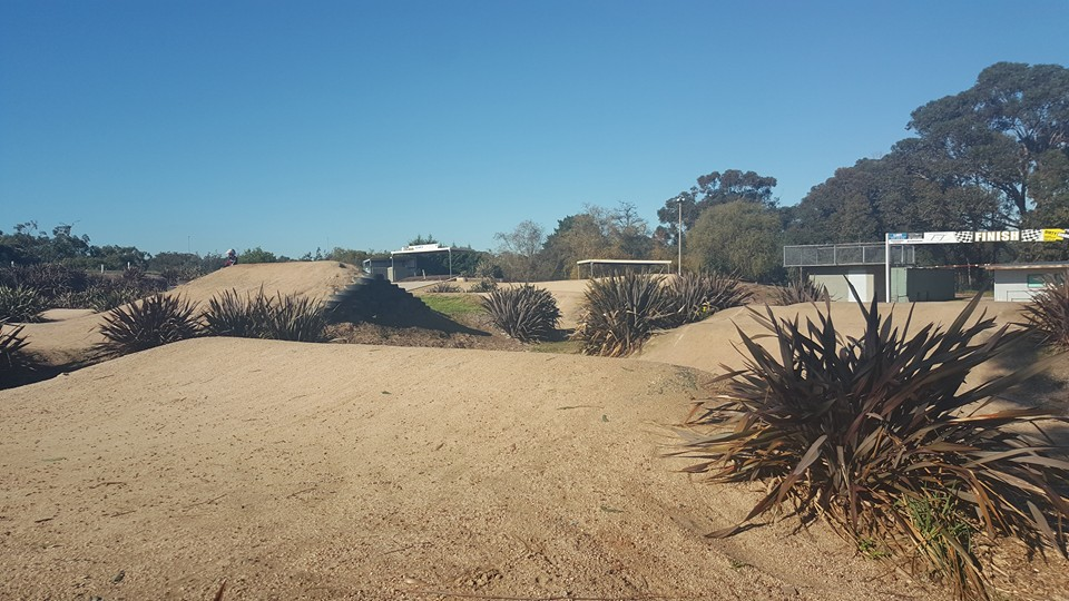 Frankston retro BMX racing
