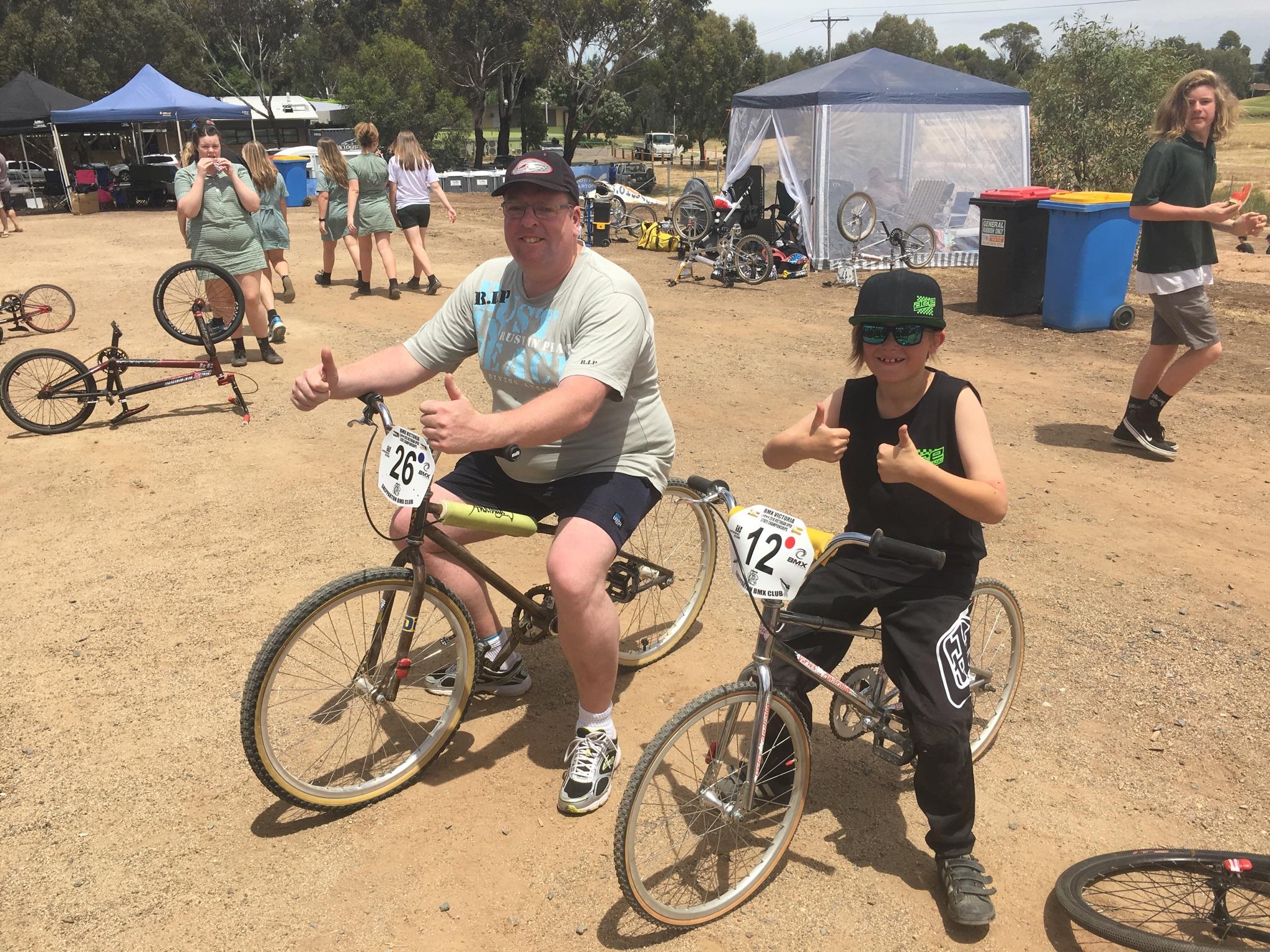 Vortex race bikes