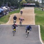 First straight at Knox BMX track