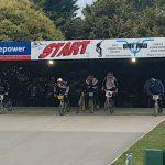 Retro BMX race start