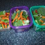 Premade stirfry vegetables