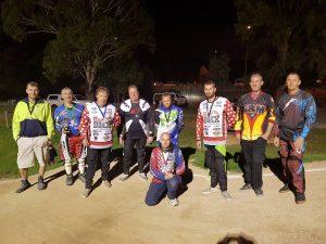 Retro BMX racers