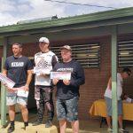 Old School BMX racing podium places